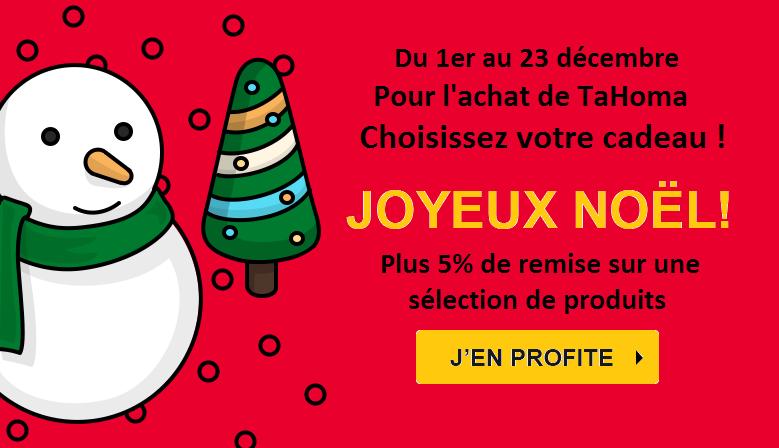 Promotion de Noël ! Du 1er au 23 décembre.