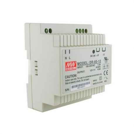 Alimentation DIN 230VCA/12VDC 4.5A