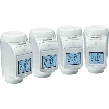 Set de 4 Têtes thermostatique evohome