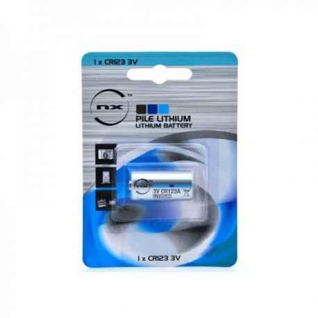 Pile lithium CR123 3V 1.45Ah
