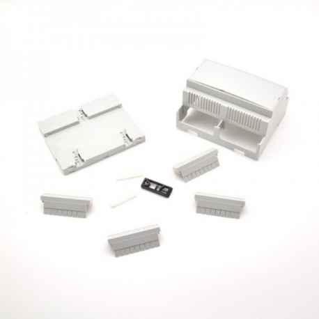 Boitier Rail DIN ventile M6 Kit