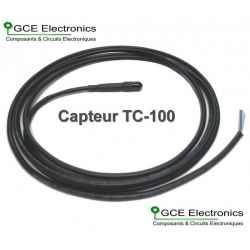 Capteur de température analogique TC4012, 10m