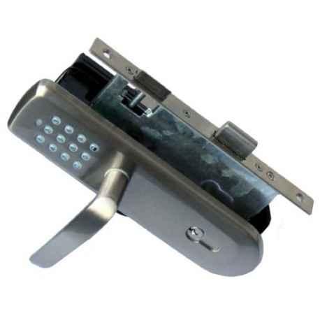 Serrure électronique Z-Wave avec clavier et poignée