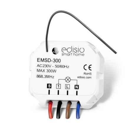 EDISIO - Récepteur 868,3 MHz Marche/Arrêt/Dimmer