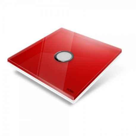 EDISIO - Plaque de recouvrement Diamond - Rouge