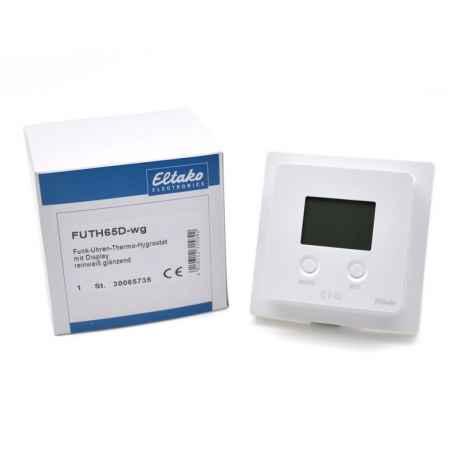 Thermostat/horloge/hygrostat EnOcean avec écran
