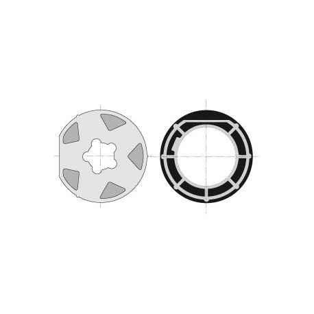 ROUE + COURONNE - TUBE MISCHLER Diam.100 / TUBE Diam.102x2