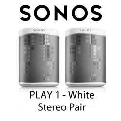 Paire Enceintes SONOS PLAY:1 avec support mural