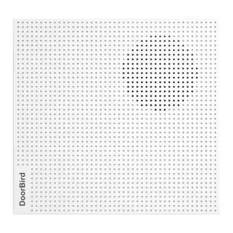 DOORBIRD - Carillon IP Blanc