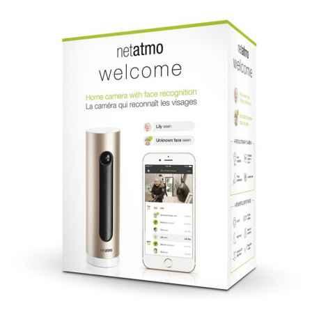 NETATMO - Caméra à reconnaissance faciale Welcome