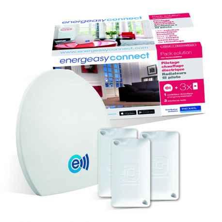 Pack chauffage électrique - Energeasy Connect V2