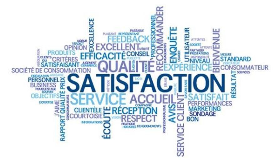 La satisfaction de nos clients est au cœur de nos préoccupations !